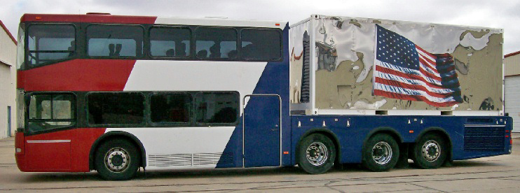 Double decker bus for sale craigslist autos post Silver eagle motor coach